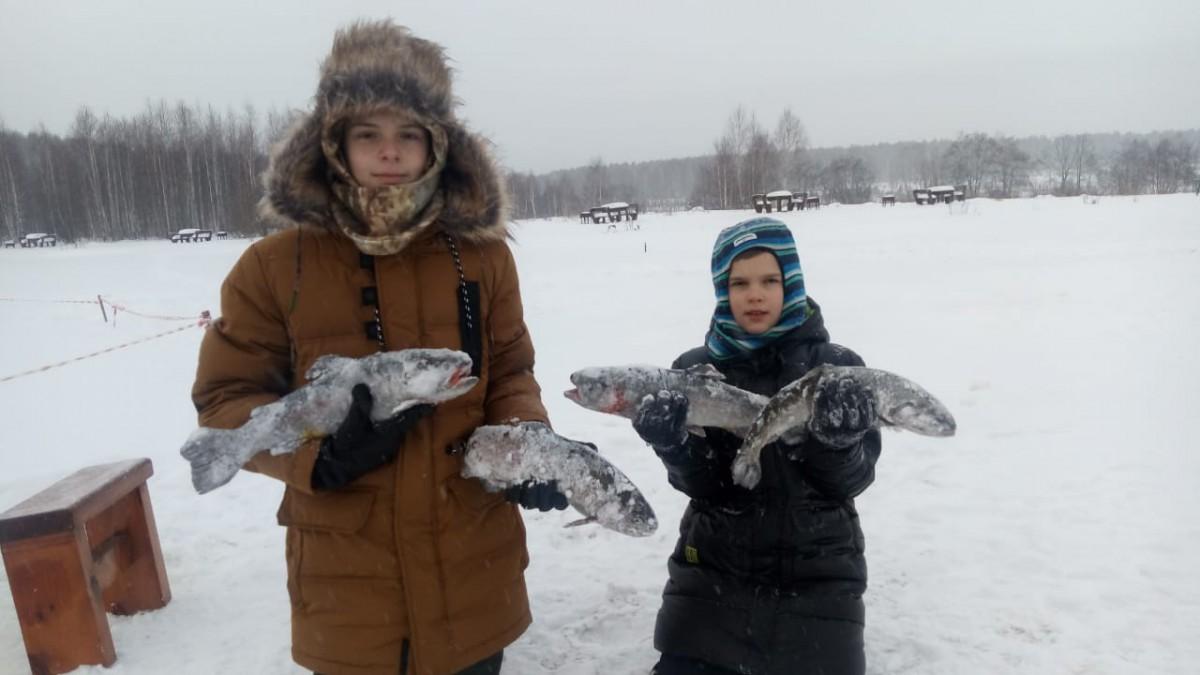 Зимняя рыбалка Екатеринбург Шабровский пруд