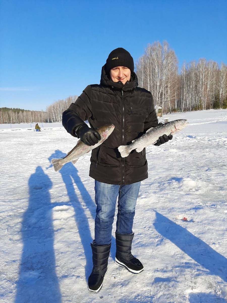 зимняя рыбалка екатеринбург